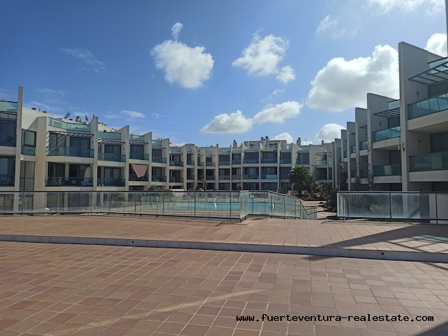 Duplex Apartment for sale in front of the sea in El Cotillo