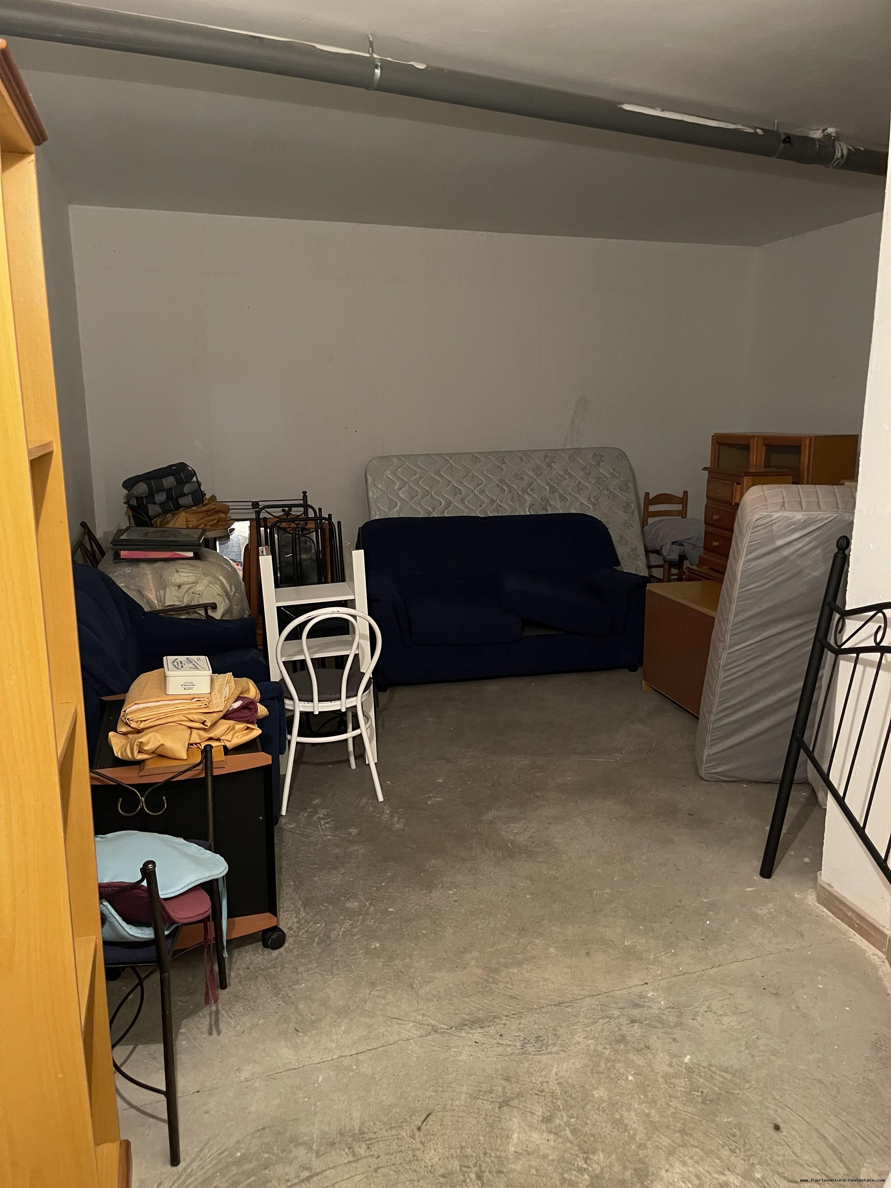 Large storageroom for sale in Corralejo